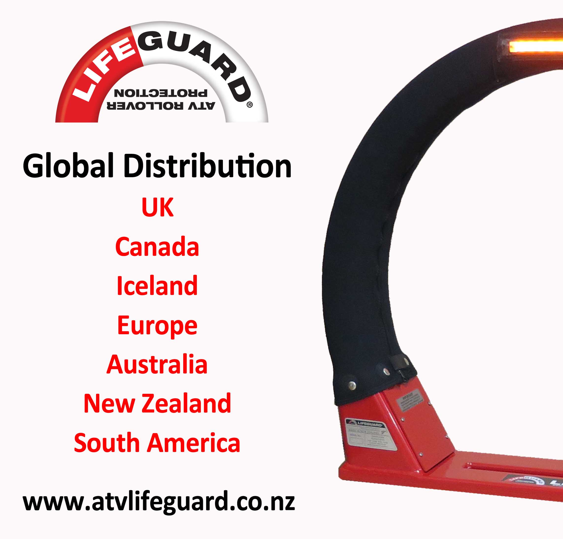 ATV Lifeguard - The ATV LifeGuard Goes Global