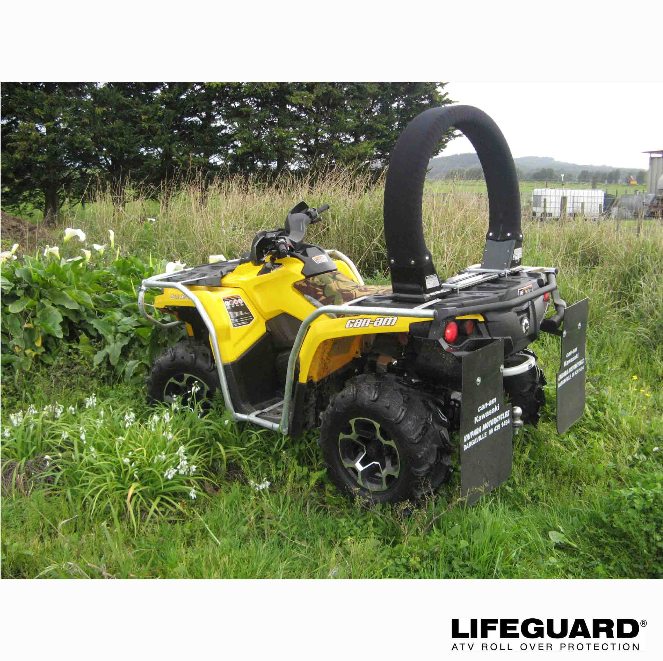 ATV Lifeguard - WorkSafe guidelines to make quads safer