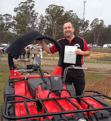 ATV Lifeguard - ATV LifeGuard® wins a major award at Agfest field days
