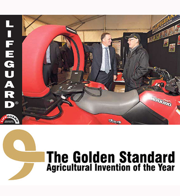 ATV Lifeguard - Innovation recognised at Mystery Creek