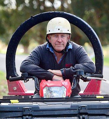 ATV Lifeguard - ATV roll bar protection saved Scott McKay's life