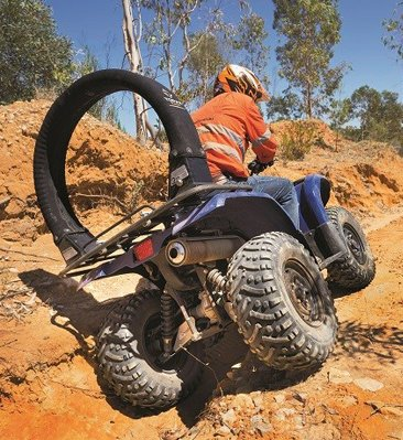 ATV Lifeguard - ATV LifeGuard® roll bar review - Trade Farm Machinery