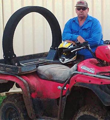 ATV Lifeguard - ATV LifeGuard® on quad bike saves a life